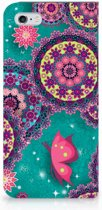 iPhone 6/6s Flip case Cirkels en Vlinders
