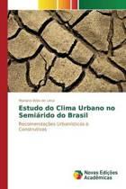 Estudo Do Clima Urbano No Semiarido Do Brasil