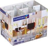 Luminarc Equipe Home Wijnglas - 24cl - Helder - Set-6