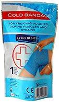 IJsverband | Koelbandage | Knieverband |Cold Bandage | Cooling | voor Blessures, stijve spieren en overbelasting | 3.2 meter | 10 CM