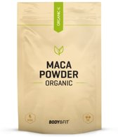 Body & Fit Organic Maca Poeder Biologisch - Superfood - 500 gram