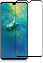 Screenprotector Tempered Glass 2.5D Huawei P30 Transparant Zwart
