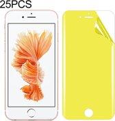 Let op type!! 25 stuks voor iPhone 6s plus Soft TPU volledige dekking front Screen Protector