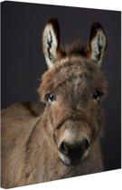 FotoCadeau.nl - Portret ezel Canvas 40x60 cm - Foto print op Canvas schilderij (Wanddecoratie)