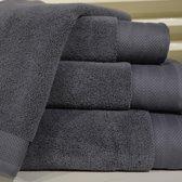 ARTG Towelzz® DeLuxe Strandhanddoekset - 2 stuks - 100 x 180 cm - Dark Grey