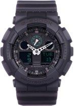 Casio G-Shock horloge GA-100MB-1AER - Horloge - 52 mm - Kunststof - Zwart