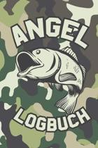 Angel Logbuch: Mein pers�nliches Fangbuch - Fangen, Notieren und Auswerten - DIN A5 - 120 Seiten