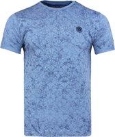 Heren T-shirts met ronde hals Gabbiano 15173 Blue-L