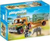 Playmobil Ranger terreinwagen met olifant 6937
