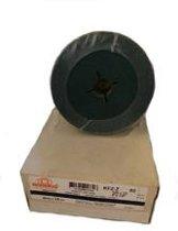 RHODIUS schuurschijf Fiber / Fiberschijf 125x22mm 25 stuks korrel 60