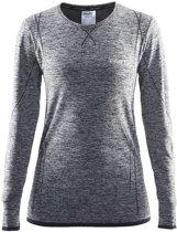 Craft Active Comfort Roundneck Ls Sportshirt Dames - Black