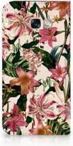 Samsung Galaxy A5 2017 Standcase Hoesje Flowers