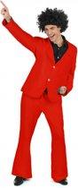 Rood disco kostuum voor heren  - Verkleedkleding - XL