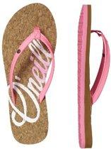 O'neill FW Logo Cork roze slippers dames (8A9528-4091)