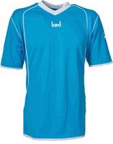 KWD Sportshirt Victoria - Voetbalshirt - Volwassenen - Maat M - Blauw/Wit