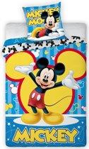 Dekbedovertrek Mickey Mouse bars 140x200/70x90 cm