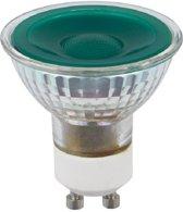 SPL reflectorlamp LED groen 230V 5W (vervangt 50W) GU10 50mm