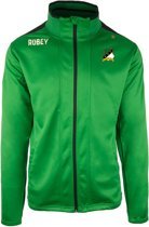 Robey Trainingsjack - Voetbaljas - Green/Black - Maat S