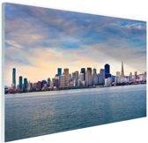 San Francisco skyline Glas 30x20 cm - Foto print op Glas (Plexiglas wanddecoratie)
