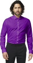 OppoSuits Purple Prince - Mannen Kostuum - Paars - Feest - Maat 41/42