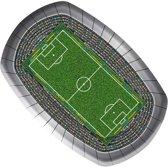 Folat Bordjes soccer party 23 cm 8 stuks