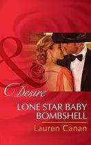 Lone Star Baby Bombshell (Mills & Boon Desire)
