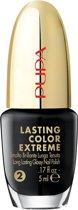 Pupa Lasting Color Extreme Nail Polish 024 Midnight Black