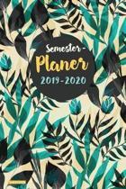 Semesterplaner 2019 2020 Hardcover