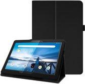 Book cover Lenovo Tab M10 Hoes Zwart met Standaard