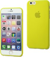 muvit iPhone 6 / 6S ThinGel Case hoes - Geel