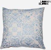 Kussen Blauw (60 x 60 cm) - Queen Deco Collectie by Loom In Bloom