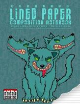Cerberus - Lined Paper Composition Notebook