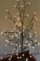 Lichttak - kersenboom - 100 warm witte LED-lampjes - 120 cm