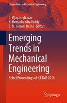 Emerging Trends in Mechanical Engineering