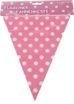 Tom Vlaggenlijn 360 Cm Roze