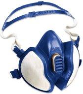3M™ Halfgelaatsmasker voor bescherming tegen organische dampen, onderhoudsvrij, 1 stuks