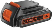 Black & Decker Lithium ion schuifaccu 18V. 2.0Ah
