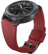 Samsung silicone horlogeband - orange rood - voor Samsung Gear S3 (R760/770)