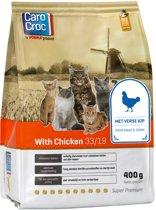 Carocroc With Chicken - Gevogelte/Rijst/Granen - Kattenvoer - 400 g
