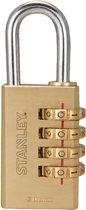 4-Digit Combination Padlock Solid Brass 30 mm