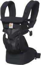 Ergobaby Omni 360 - Cool Air Mesh Onyx Black - ergonomische draagzak vanaf geboorte zonder verkleinkussen (alle posities)