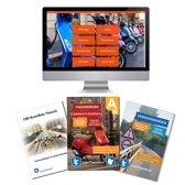Scooter Theorieboek 2019 met Bromfiets theorie samenvatting en een verkeersbordenboekje met alle verkeersborden