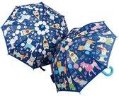 Floss & Rock Huisdieren - magische kleur veranderende paraplu - Multi