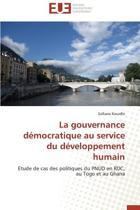 La Gouvernance D�mocratique Au Service Du D�veloppement Humain