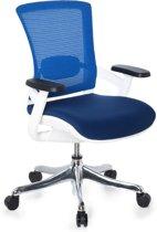 hjh office Skate Style - Bureaustoel - Netstof - Blauw