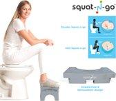 Squat-n Go Able2 toiletkrukje Inklapbaar - Grijs