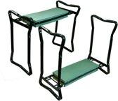 Knie- en zitbankje professioneel 58x28x49 cm