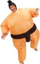 Opblaasbaar sumoworstelaar kostuum - Verkleedkleding - One size