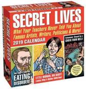 2019 daily calendar, secret lives