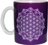 Koffiemok Flower of Life